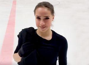 Загитова выложила видео своей тренировки накатке «Хрустальный»