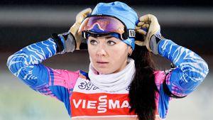 Русские биатлонистки вне топ-10 в преследовании в Анси. Хотя Куклина стреляла идеально