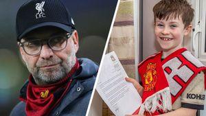 «Ливерпуль» проиграл дважды после письма юного фаната «МЮ» Клоппу спросьбой перестать выигрывать