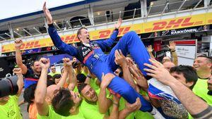 «Русский однозначно гонщик дня». Что говорят о сенсационном подиуме Квята на Гран-при Германии