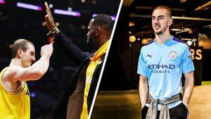 Главный баскетболист-мем НБА — большой фанат «Ман Сити». Даже на матчи он приезжает в майке «МС»