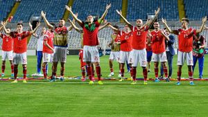 МЫ ЕДЕМ НА ЕВРО!!! Сборная России загрузила пятерку Кипру: Дзюба, Головин, дубль Черышева
