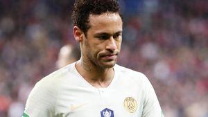 Неймар забил и ударил фаната, Мбаппе удалился, а «ПСЖ» влетел по пенальти в финале Кубка Франции