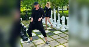 «ВКисловодске уже так непотанцуешь!» Плющенко иРудковская станцевали под легендарный хит Bomfunk MC's: видео