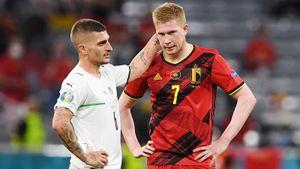 Де Брейне о поражении от Италии: «При всем моем уважении, мы всего лишь Бельгия»