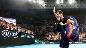 Маррей устроил блокбастер в первом круге Australian Open. Возможно, это его последний матч в карьере