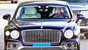 Для машины Криштиану Роналду не нашлось бензина. Как так вышло и на чем он вообще гоняет по Англии?