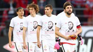 Игроки «Спартака» вышли на матч в специальных футболках с цитатой Тедеско