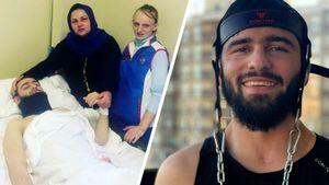 «Говорили: «Не выживет». Был парализован, встал на ноги, хочет вернуться на ковер: подвиг борца из Дагестана Алиева