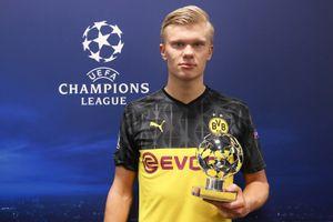 Холанд признан лучшим игроком недели вЛиге чемпионов
