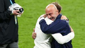 Тренер сборной Италии Манчини не сдержал слез после победы над Англией в финале Евро-2020