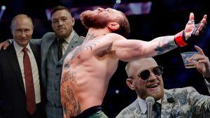 Делал фото с Путиным, провоцировал дагестанцев, нападал на Хабиба, заработал миллионы в UFC. Путь Конора Макгрегора