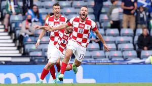 Гол Влашича помог сборной Хорватии обыграть Шотландию и выйти в плей-офф Евро