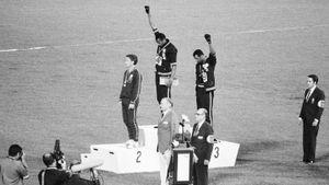 Темнокожие спортсмены из США устроили акцию протеста на ОИ-1968. Их выгнали из сборной и угрожали убийством