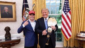 Боец UFC Ковингтон называл бразильцев «грязными животными». Его главный фанат — Дональд Трамп