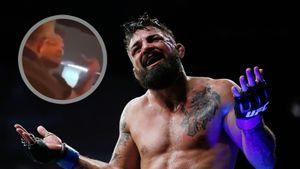 Боец UFC Перри сильным ударом уложил пожилого человека и угрожал другому, обзывая его нигером: видео