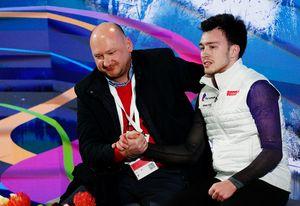 Российский фигурист выиграл чемпионат Европы впервые современ Плющенко