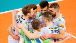 Московское «Динамо» вернулось на 3-е место в волейбольной Суперлиге. Борьба за титул становится непредсказуемой
