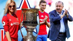 ЦСКА отметил годовщину победы вКубке УЕФА золотыми футболками ипобедой над «Ахматом». Фото сматча