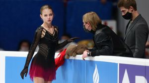 Трусова: «Спасибо Плющенко, что был со мной все 10 дней на ЧМ. Надеюсь, в другой раз соберусь в нужное время»