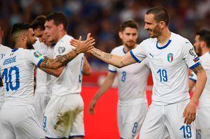Греция— Италия— 0:3. Команда Манчини стартовала вотборе ЧЕ-2020 с3 побед собщим счетом 11:0