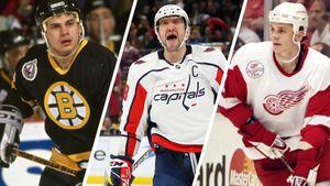 Американцы назвали лучшие звенья клубов НХЛ за 30 лет. Среди них русская тройка, Овечкин и даже тренер «Ак Барса»