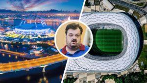 «На арене «Зенита» поле в центре внимания, а на «Динамо» ты не в своей кастрюле». Уткин — о новых стадионах