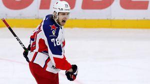 Шайба Шалунова принесла ЦСКА победу над «Авангардом» в 3-м матче серии
