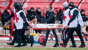 Воспитанники «Спартака» прибили ЦСКА в Туле, а Марио получил страшную травму: защитник повредил голову уже 9 раз