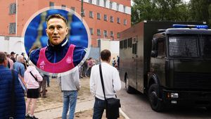 Футболист сборной Белоруссии арестован на 7 суток за участие в митинге против результатов выборов
