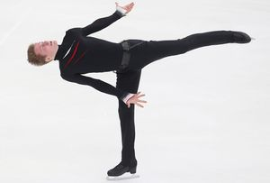 Русский фигурист Самарин повторил достижение Плющенко 10-летней давности