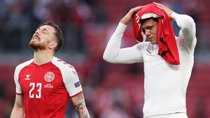 Датчане не пришли в себя после приступа Эриксена. Финляндия за весь матч нанесла 1 удар по воротам и победила