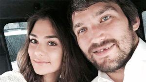 Жена Овечкина рассказала, как хоккеист сделал ей предложение: «Я была в душе с шампунем на голове»