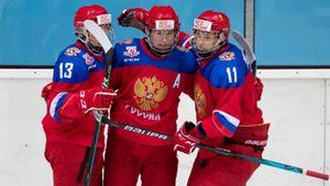 Юниорская сборная России разгромила Словакию в финале Кубка Глинки/Гретцки