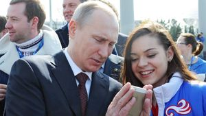 «Сдержала обещание!» Сотникова рассказала, как в 12 лет обещала Путину стать олимпийской чемпионкой