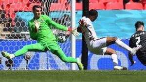 Гол Стерлинга принес Англии победу над Хорватией на Евро-2020