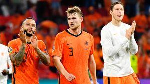 Де Лигт стал рекордсменом сборной Нидерландов в матчах Евро по проценту точных передач