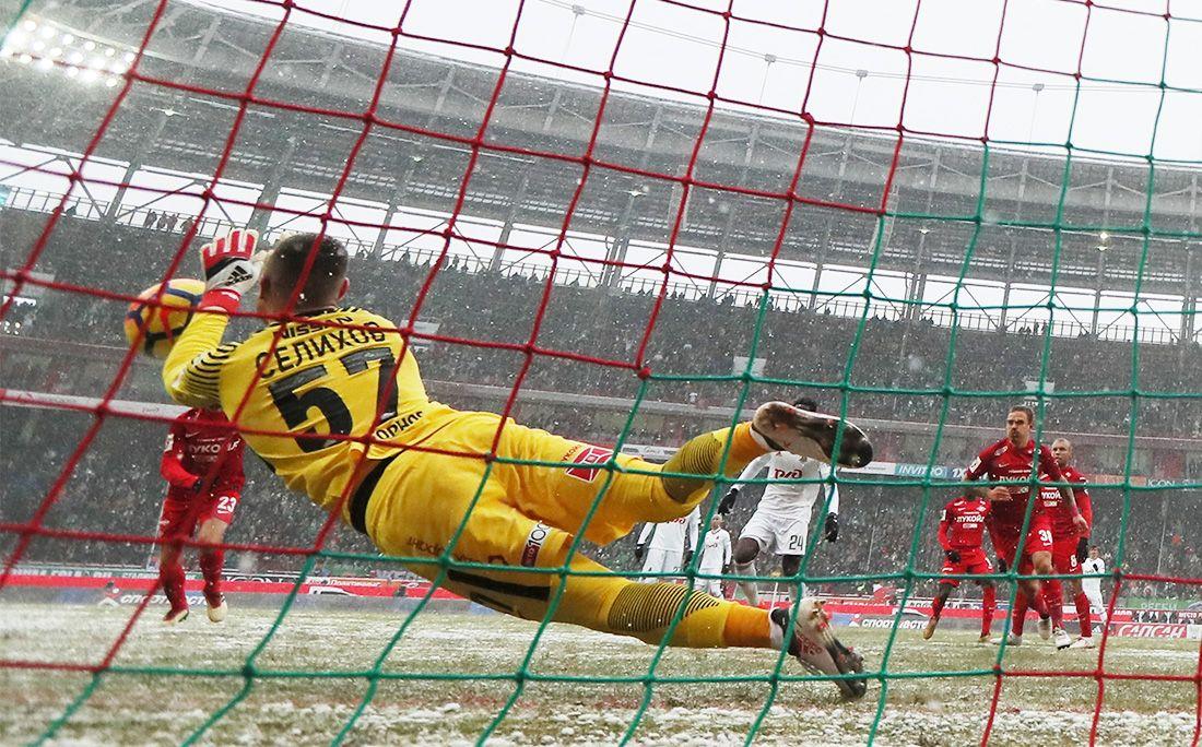 Наиль Измайлов: Ловить мяч в такую погоду сложно, но Селихов – лучший!