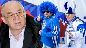 Скандальная драка босса российского хоккея. Стеблин называл пьяницей финна, которого бил в самолете