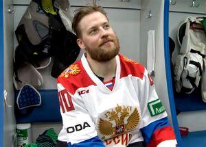 «Это впервый ивпоследний раз». Швед Умарк надел свитер сборной России. Онпроиграл спор