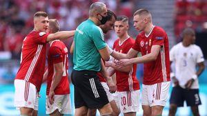 Салаи получил тепловой удар во время матча Венгрия— Франция