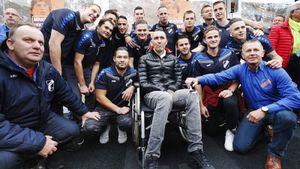 Смертельно больной экс-футболист «Зенита» Риксен в последний раз встретится с болельщиками