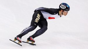 Японский конькобежец избежал дисквалификации задопинг наОИ-2018. Оннаписал объяснительную