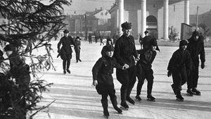 Московские катки 100-летней давности. Где икак катались наконьках тогда: фото