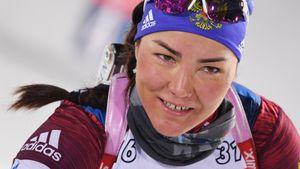 Биатлонистка Акимова вернулась на Кубок мира спустя 2,5 года и сразу попала в очки. А весь подиум норвежский
