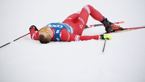 Норвежцы разнесли Большунова и всю Россию в коньковой гонке на чемпионате мира. Наш лидер не попал в призы