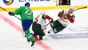 Чемпион КХЛ проиграл дерби команде-разочарованию. Взарубе Казани иУфы все решил защитник изДании