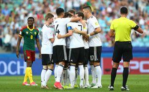 Германия и Чили - в полуфинале Кубка конфедераций