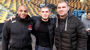 Американский «брат» Хабиба: потерял дочь, вылетел с Олимпиады, стал легендой UFC в 39. История Кормье