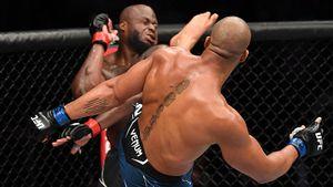 Феномен из Франции издевательски забил соперника. В тяжелом весе UFC новый чемпион